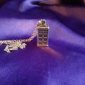 Jewelry - T.A.R.D.I.S. necklace
